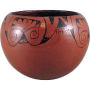 Maricopa Indian Pottery Bowl by Grace Monahan