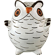 Acoma Pueblo Pottery Owl by Marie Chino