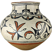 Antique Pottery Jar San Ildefonso Pueblo Indian