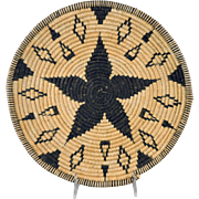 Apache Star Willow Basket by Mary Porter