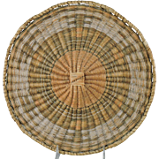 Third Mesa Hopi Wicker Plaque Wedding Robe Design