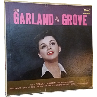 Judy Garland at the Grove Vinyl LP