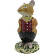 Lord Woodmouse DBH4 Brambly Hedge Royal Doulton  Gift Boxed  Free Shipping