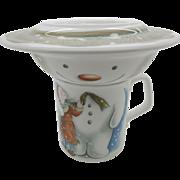 Royal Doulton Build A Snowman Three Piece Breakfast Set Cup Bowl Plate