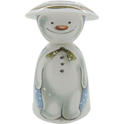 Build A Snowman Two Piece Egg Cup Set Royal Doulton Free Shipping