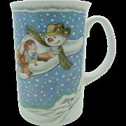 """The Snowman Mug """"Walking In The Air""""  Royal Doulton   Free Shipping"""