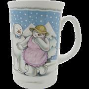 "The Snowman Mug ""The Party"" Royal Doulton  Gift Boxed  Free Shipping"