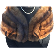 Vintage I. Magnin Russian Sable Stole