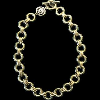 Vintage Signed Anne Klein Necklace