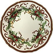 Tiffany Holiday Hostess Plate 1997