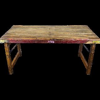 Vintage Hardwood Indian Wedding Table