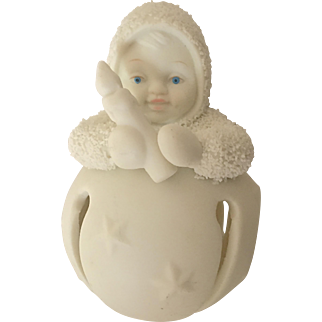 "Snowbabies Ornament, ""First Star Jinglebaby"", Retired"