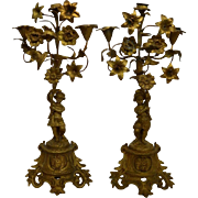 Pair of Candelabra, France, 19th C