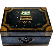Antique Safe Box, England 1900s
