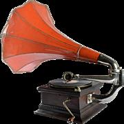 Antique Gramophone, HMV, Great Britain, 1910