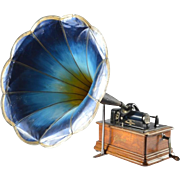 Antique Phonograph Edison, USA, 1908