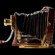 Antique Photo Camera J.Lizards, England 1900
