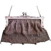 Vintage Ladies' Metal  Purse