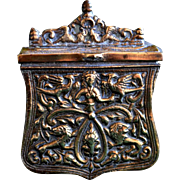 Bronze or Brass Palaskas Greek Cartridge Box
