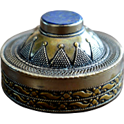 Vintage Silver Trinket Box