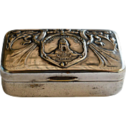 Silver Plate German Trinket Box