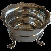 Antique English Solid Silver Salt, Birmingham, 1906