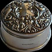 Sterling Silver Trinket Box B & Co Birmingham