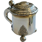 Antique Silver Sterling Silver Tankard