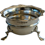 Antique English Solid Silver Salt, Chester, 1904