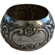Antique Silver Chester Napkin Ring, 1898