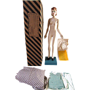 Vintage Latexture Designer Fashion Doll Miniature Mannequin Teach Sewing WWII