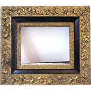 """Antique Victorian Ornate Wood and Gesso Gold Gilt Picture Frame Fits 8"""" x 10"""""""