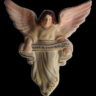 Vintage Gloria In Excelsis Deo Angel | Portuguese Folk Art I 1950's
