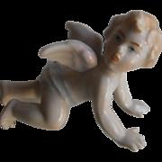 Antique Cherub Piano Baby | Hand Painted Porcelain | 19th Century