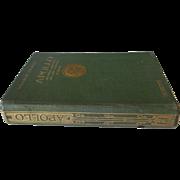 Livre RARE | Apollo, histoire générale des Arts Plastiques | REINACH, Salomon | c. 1919