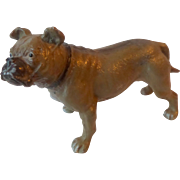 c1920 Cold Painted Spelter/Lead French Bulldog
