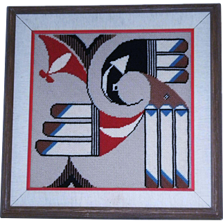 Native Style Design Weave Art