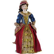 for Opera or Theater : antique doll 7 in , head,arms,legs in bisque