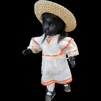 Black BEBE JUMEAU size 1 mold 1907 . 9 2/3 in