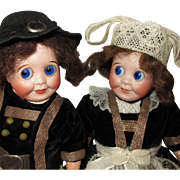 pair of Googly : SFBJ 245 in Brittany costume