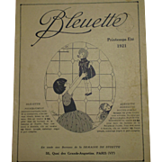 SUMMER 1921 : original G L catalog for bleuette clothes