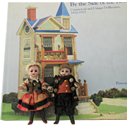 for Doll House : couple of all bisque dolls 890 3/0, 4 in