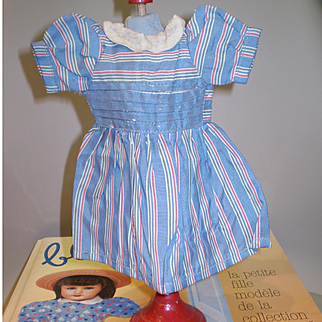 original Bleuette clothe : model 'EN LONG EN LARGE' period 1950