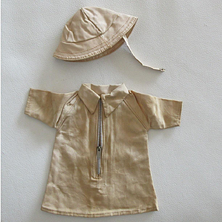 original Bleuette clothe : model 'TERRE NEUVE' period 1940