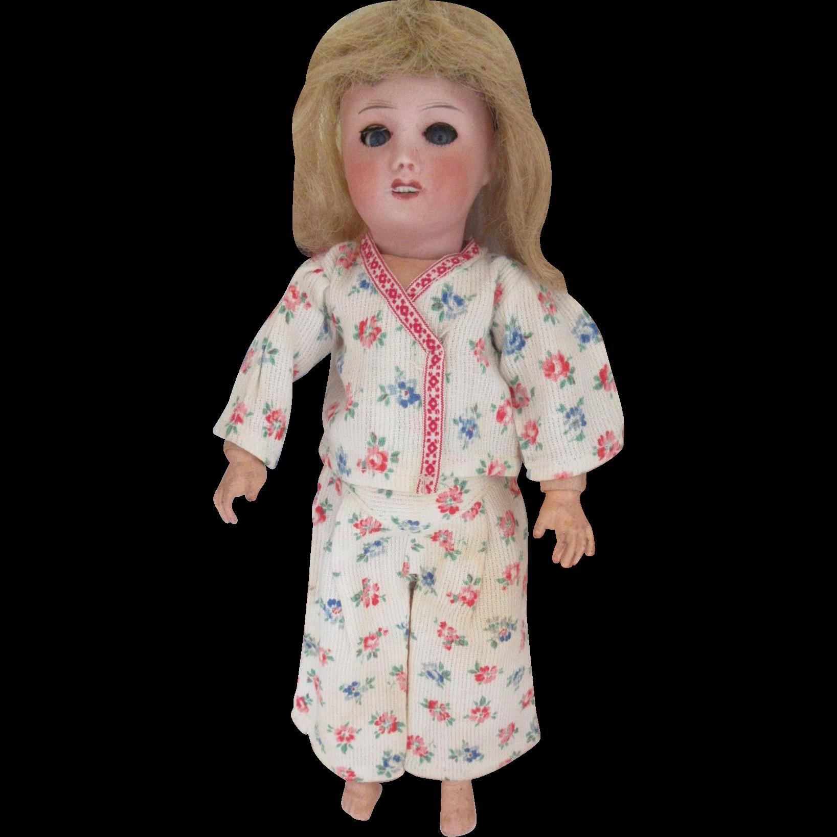 for Bleuette doll : original G.L. pajama \'BONSOIR\' , 1948 : Jean ...