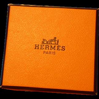 Hermes scarf BRIDES DE GALA for Bleuette doll, all original in box