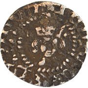 Silver hammered halfpenny coin Henry V of England 1413-22 middle ages medieval