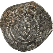 King Edward II hammered silver halfpenny 1279-1344 London mint Medieval English coin