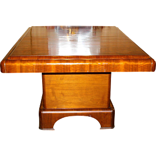 Art Deco Vintage Dining Room Table