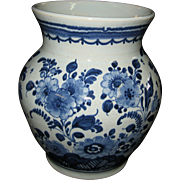 OUD Delft Handpainted Vase